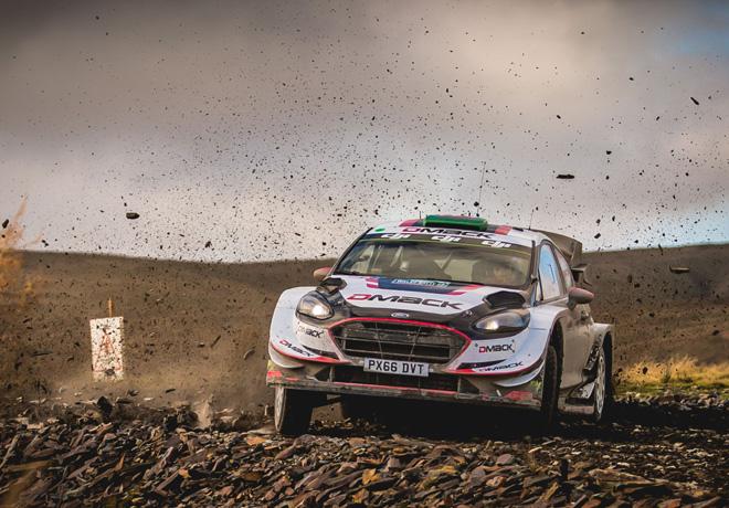 WRC - Gales 2017 - Dia 3 - Elfyn Evans - Ford Fiesta WRC