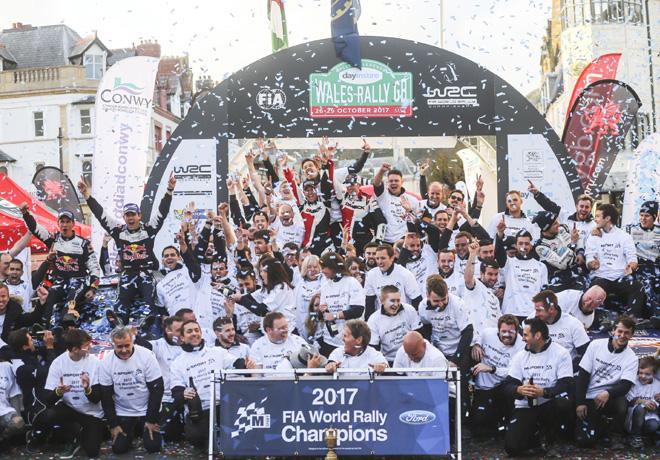 WRC - Gales 2017 - Final - Evans ganador - Ogier y M-Sport Campeones