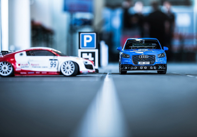 3ra edicion de la Copa Audi de Conduccion Autonoma para autos a escala 2