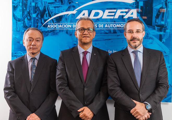 Adefa - Nuevas autoridades + Cesar Luis Ramirez Rojas - Luis Fernando Pelaez Gamboa - Rodrigo Perez Graciano