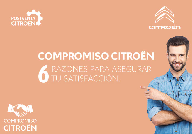 Compromiso Citroen - Postventa