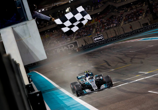 F1 - Abu Dhabi 2017 - Carrera - Valtteri Bottas - Mercedes GP