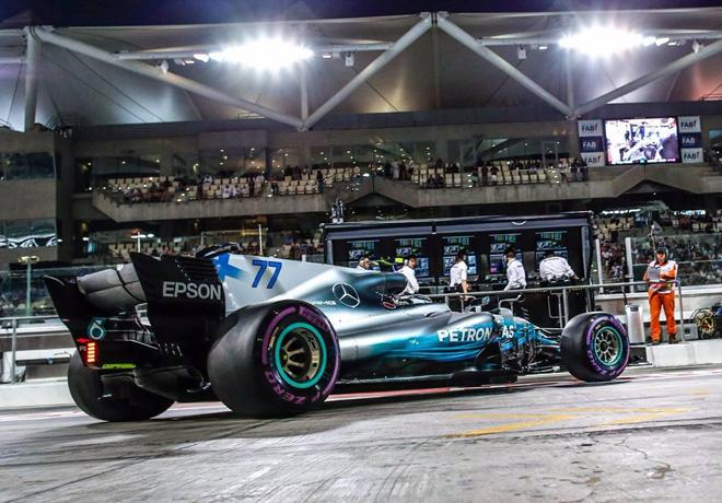 F1 - Abu Dhabi 2017 - Clasificacion - Valtteri Bottas - Mercedes GP