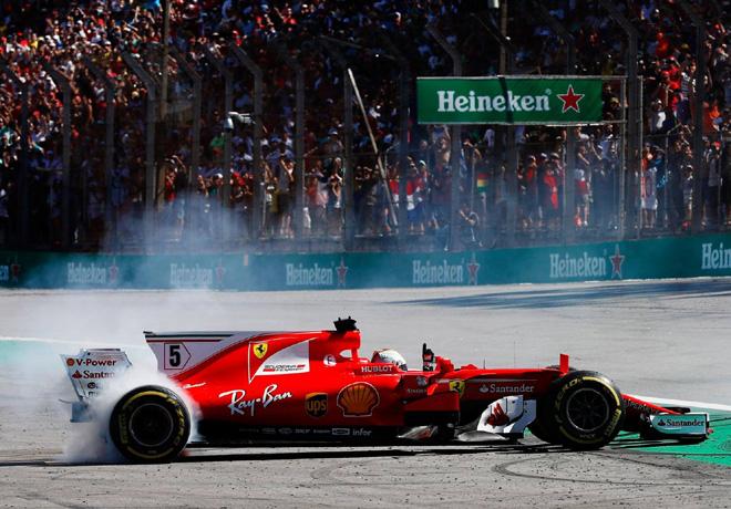 F1 - Brasil 2017 - Carrera - Sebastian Vettel - Ferrari