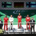 F1 - Brasil 2017 - Carrera - Valtteri Bottas - Sebastian Vettel - Kimi Raikkoinen en el Podio
