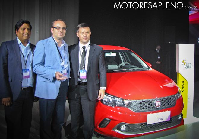 Fiat Argo elegido por CESVI como el vehiculo mas seguro de su categoria 2