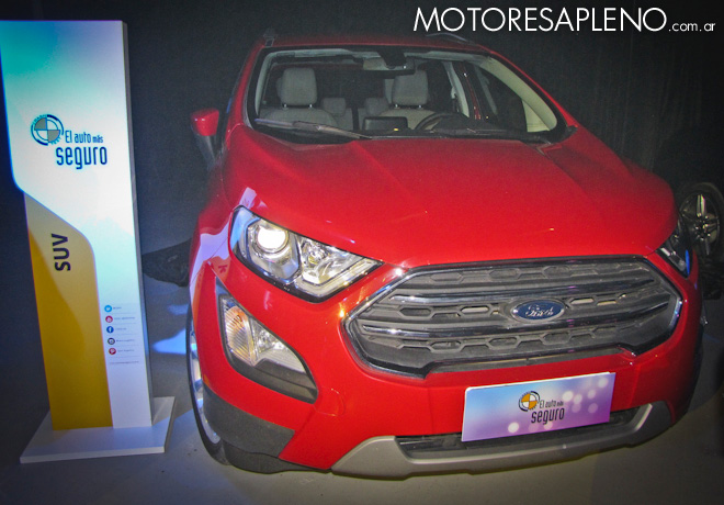 Ford EcoSport - Auto mas Seguro 2017 - Categoria SUV 1