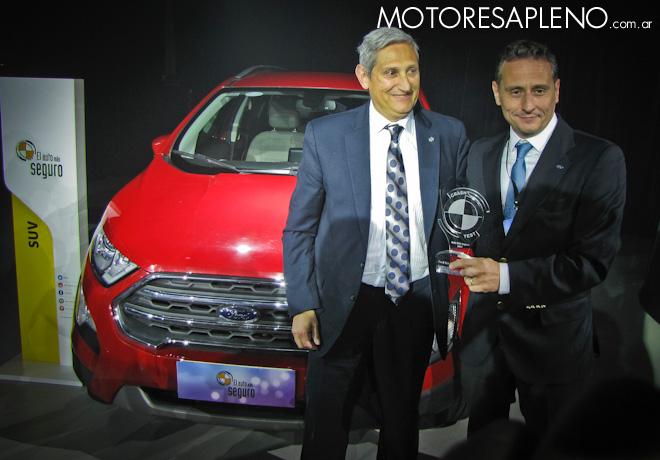 Ford EcoSport - Auto mas Seguro 2017 - Categoria SUV 2