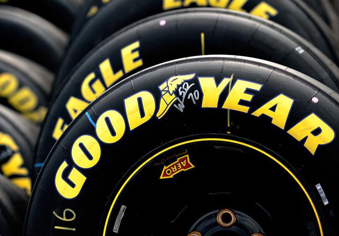 Goodyear y NASCAR extendieron su acuerdo historico 2
