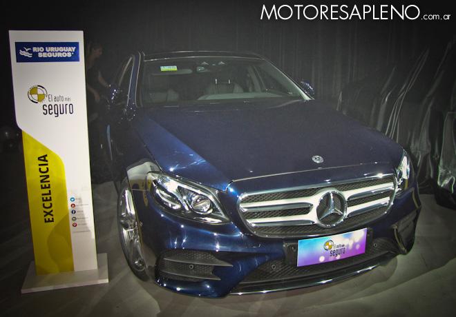 Mercedes-Benz Clase E - Auto mas Seguro 2017 - Categoria Excelencia en Seguridad 1