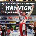 NASCAR - Texas 2017 - Kevin Harvick en el Victory Lane
