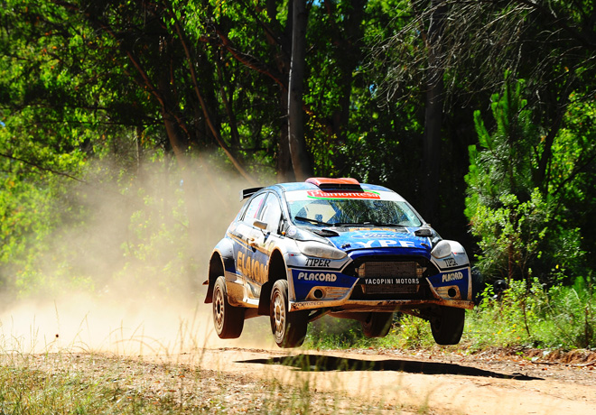 Rally Argentino - Concepcion del Uruguay - Entre Rios 2017 - Final - Federico Villagra - Ford Fiesta MR