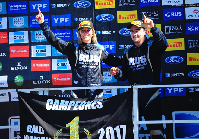 Rally Argentino - Concepcion del Uruguay - Entre Rios 2017 - Final - Nadia Cutro - Campeona Copa Junior Elaion