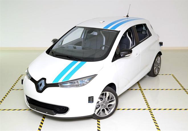 Renault - Callie - sistema autonomo que evita los obstaculos eficazmente