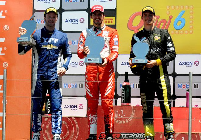 STC2000 - General Roca 2017 - Final - Agustin Canapino - Matias Rossi - Damian Fineschi en el Podio