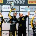TC2000 - Concordia 2017 - Carrera Final - Manuel Luque - Santiago Mallo - Mario Gerbaldo - Tomas Gagliardi Genne en el Podio