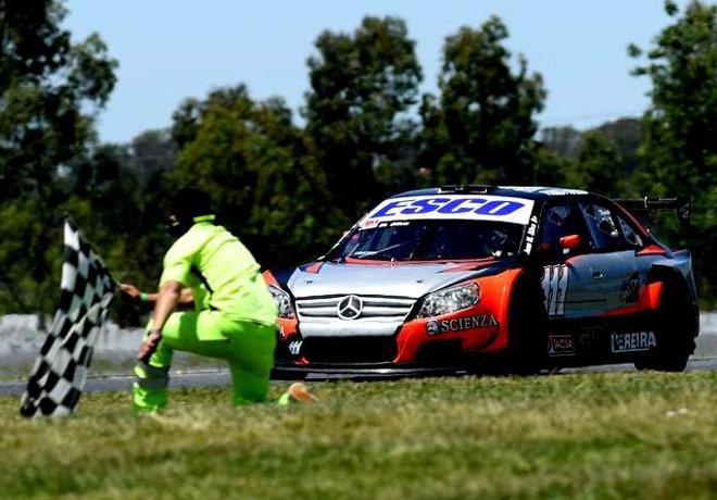Top Race - La Plata 2017 - Carrera - Juan Manuel Silva - Mercedes-Benz