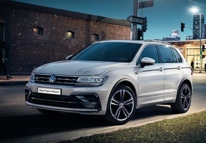 Volkswagen Argentina lanza el nuevo Tiguan Allspace.