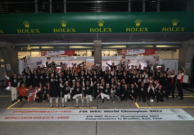 WEC - 6 hs de Shanghai 2017 - Porsche campeon de Equipos y Pilotos