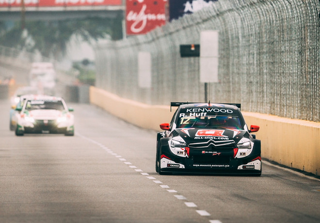 WTCC - Macao - China 2017 - Carrera 2 - Robert Huff - Citroen C-Elysee