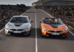 BMW i8 Coupe y BMW i8 Roadster 1