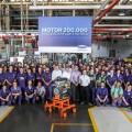 Ford Argentina celebra la produccion del motor Puma numero 200 mil fabricado en la Planta de Pacheco