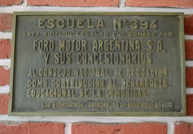 Ford - Educacion para un nuevo manana - Escuela Eduardo Sívori 2