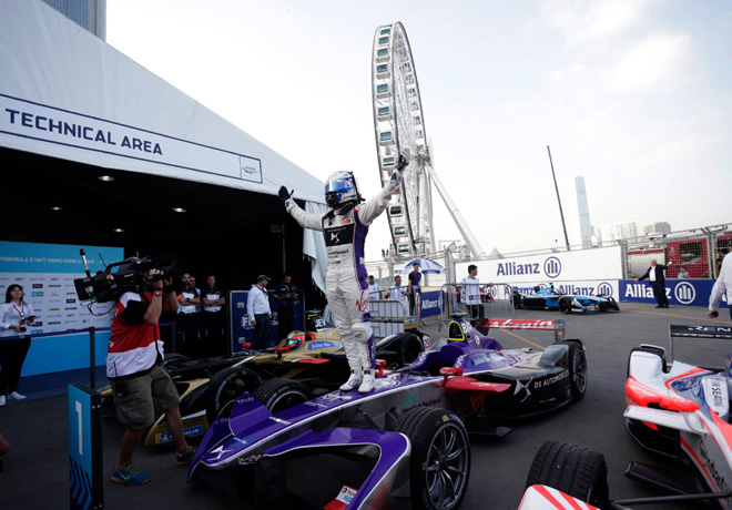 Formula E - Hong Kong - China 2017 - Carrera 1 - Sam Bird - DS Virgin Racing