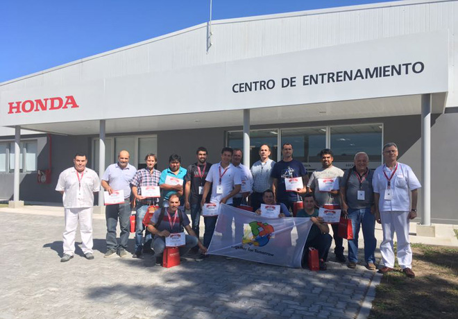 Honda Motor de Argentina llevo adelante el primer curso de Formador de Formadores