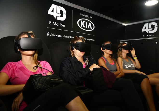 Kia invita a una experiencia de realidad virtual en Carilo 2