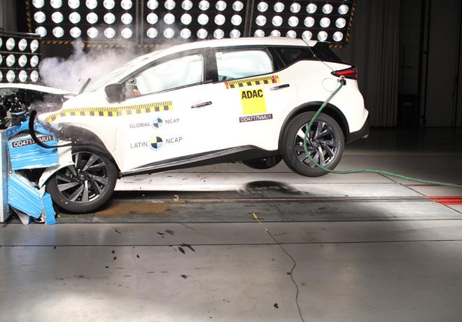 Latin NCAP - Nissan Murano - con 7 Airbags