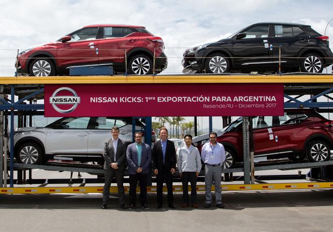 Nissan Kicks fabricado en Brasil comienza exportaciones a Argentina 1