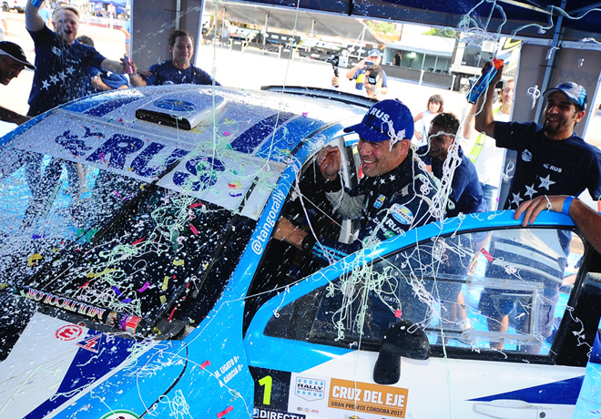 Rally Argentino - Cruz del Eje 2017 - Etapa 1 - Marcos Ligato - Chevrolet Agile MR - Campeon
