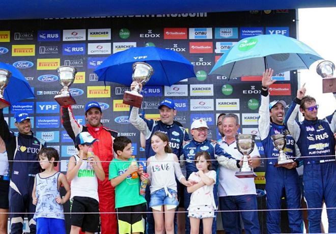 Rally Argentino - Cruz del Eje 2017 - Final - El Podio