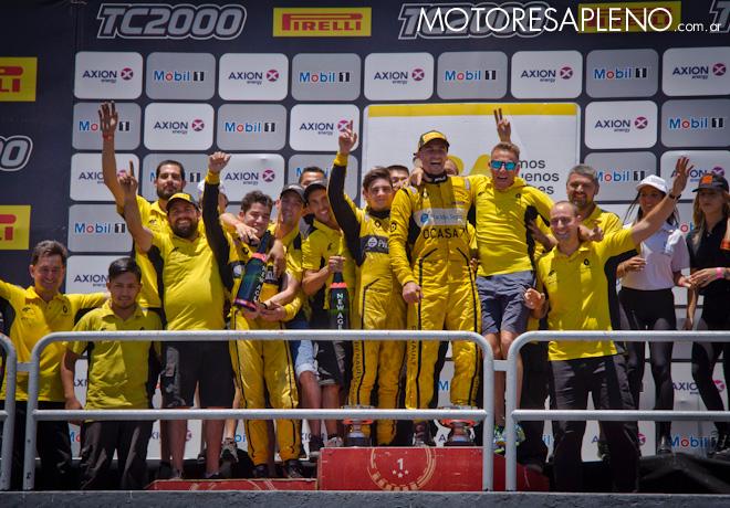 TC2000 - Buenos Aires III 2017 - Carrera - Ambrogio Racing - Campeon de Equipos