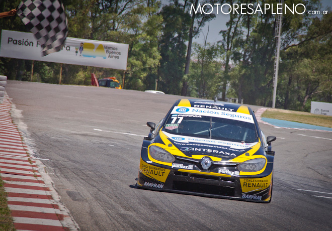 TC2000 - Buenos Aires III 2017 - Carrera - Mariano Pernia - Renault Fluence