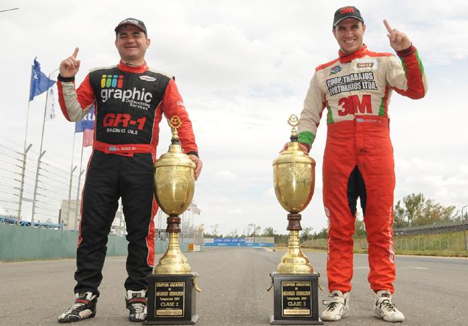 TN - Rosario 2017 - Ale Bucci y Mariano Werner - Campeones