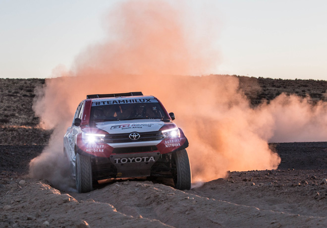Toyota enfrenta el desafio de un nuevo Rally Dakar 1