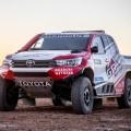 Toyota enfrenta el desafio de un nuevo Rally Dakar 2