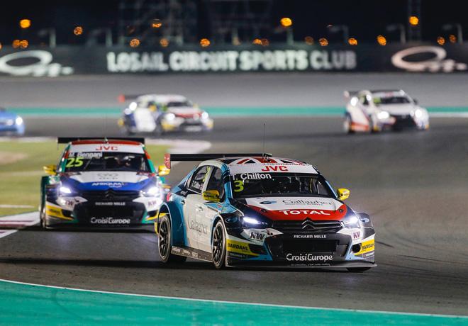 WTCC - Losail - Qatar 2017 - Carrera 1 - Tom Chilton - Citroen C-Elysee