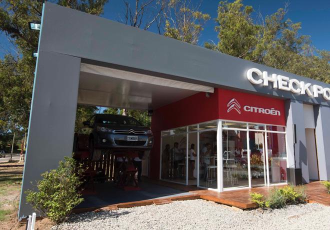 Checkpoint Citroën Posventa en Pinamar.