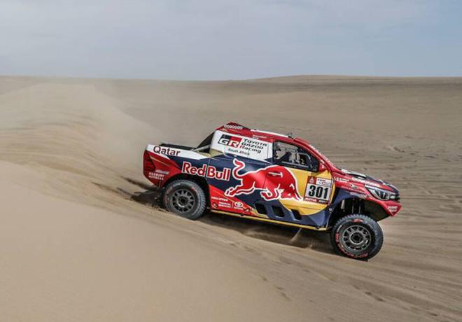 Dakar 2018 - Etapa 1 - Nasser Al-Attiyah - Toyota Hilux