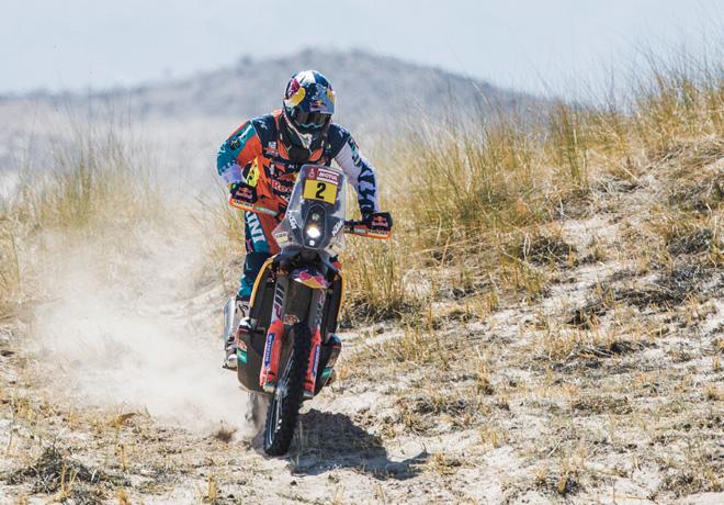 Dakar 2018 – Etapa 10: Walkner se salva de la quema.