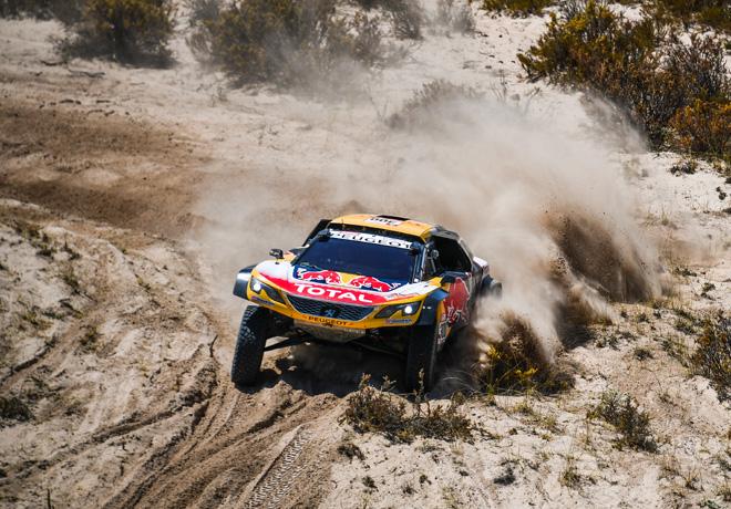 Dakar 2018 - Etapa 10 - Stephane Peterhansel - Peugeot 3008DKR Maxi