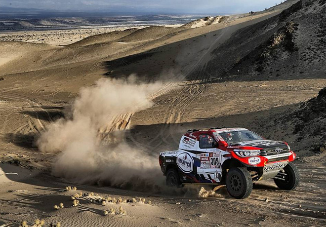 Dakar 2018 - Etapa 11 - Bernhard Ten Brinke - Toyota Hilux