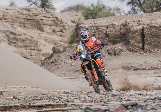 Dakar 2018 - Etapa 11 - Toby Price - KTM