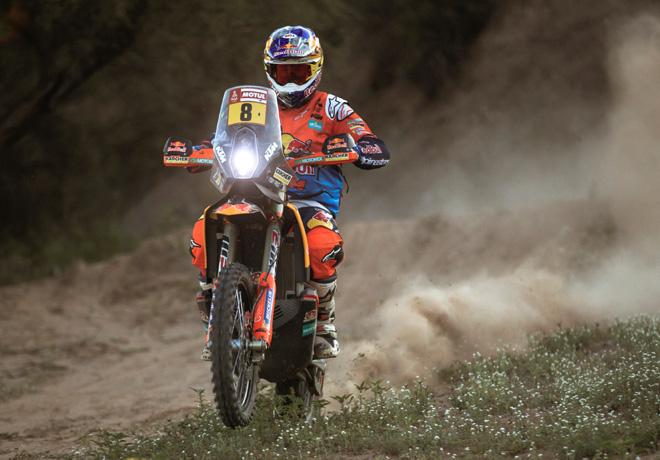 Dakar 2018 - Etapa 13 - Toby Price - KTM