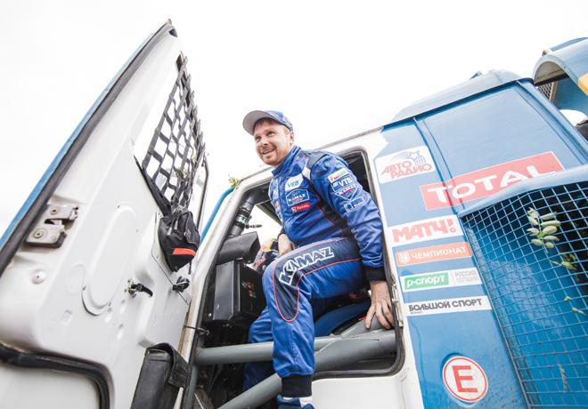 Dakar 2018 - Etapa 14 - Eduard Nikolaev - Kamaz