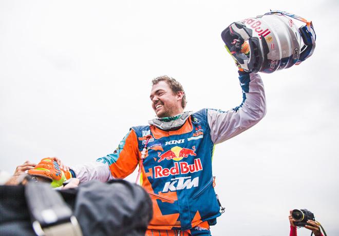 Dakar 2018 - Etapa 14 - Matthias Walkner - KTM