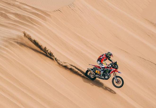 Dakar 2018 - Etapa 2 - Joan Barreda - Honda